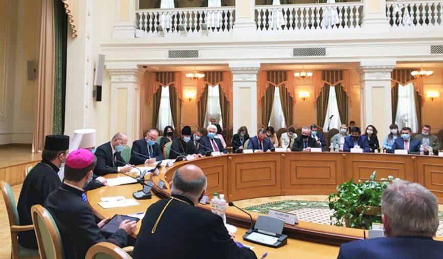 Рада Церков закликає відхилити законопроект № 5488 щодо нетерпимості